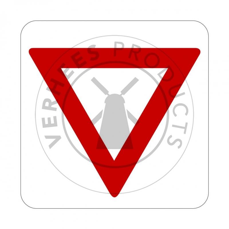 Signalisatie Voorrangsbord V2