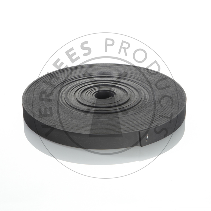 Soepele boomband op rol rubber
