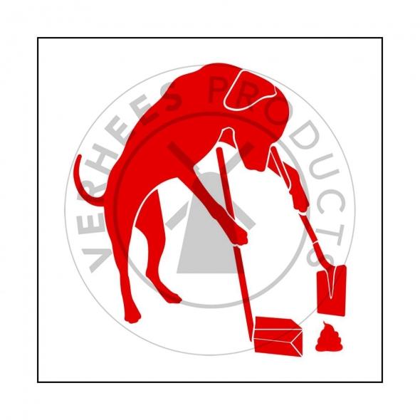 Signalisatiebordjes hondenpoep opruimen