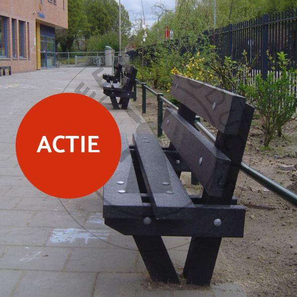 Actie: Kunststof Bank 'Bos' 6 halen 5 betalen